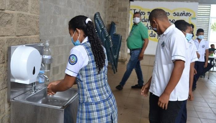 I.E. Denzil Escolar adopta protocolo de bioseguridad para el funcionamiento del comedor escolar - Noticias de Colombia